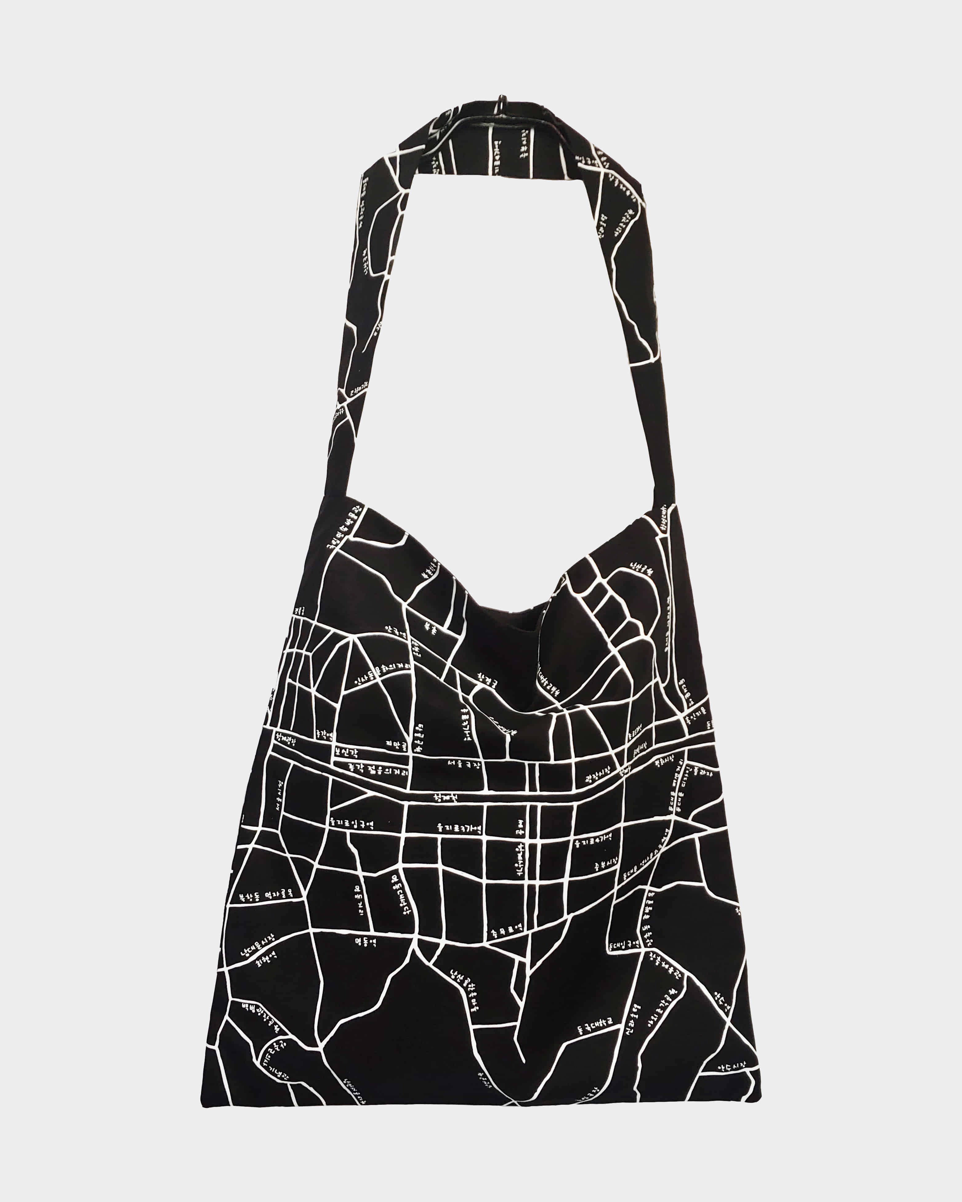 서울지도 에코백 Seoul map ecobag (Black)